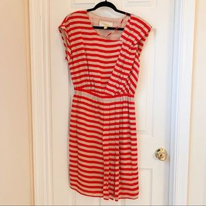 Anthropologie Leifsdottir Piano Stripe Dress